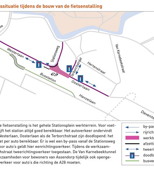 Planning herinrichting Stationsplein Noord & Stationsweg